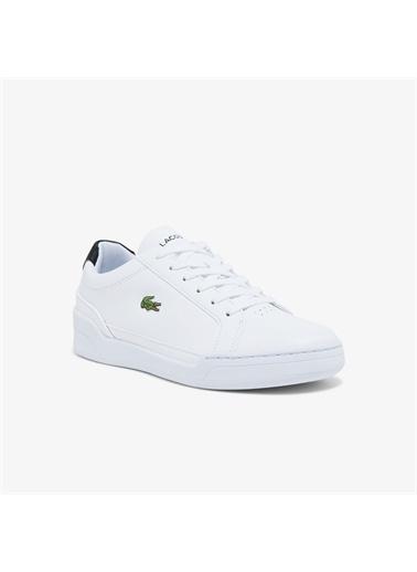 Lacoste Lacoste Challenge 0121 1 Sfa Kadın Deri Beyaz - Siyah Sneaker Beyaz